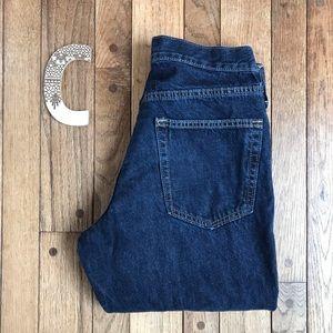 Old Navy Dark Wash Straight Leg Jeans